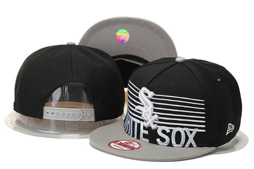 Chicago White Sox Snapback Black Hat 2 GS 0620